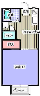 文研ビル 206号室の間取り図