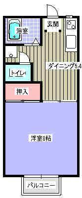 文研ビル 305号室の間取り図