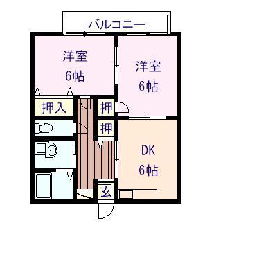 コンフォートM 103号室の間取り図