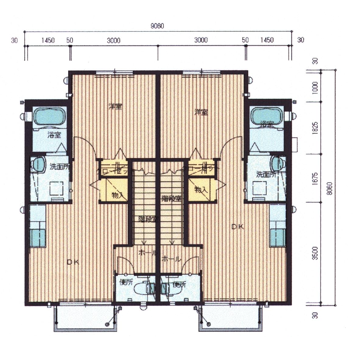 ラフォーレ2 201号室の間取り図