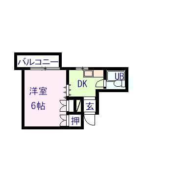 正栄工業ビル 401号室の間取り図