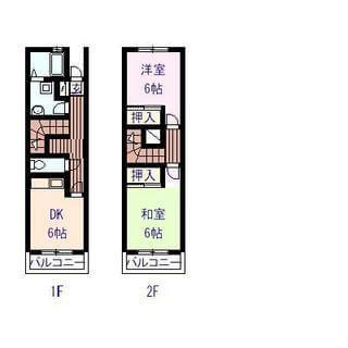 エスポワール03 102号室の間取り図
