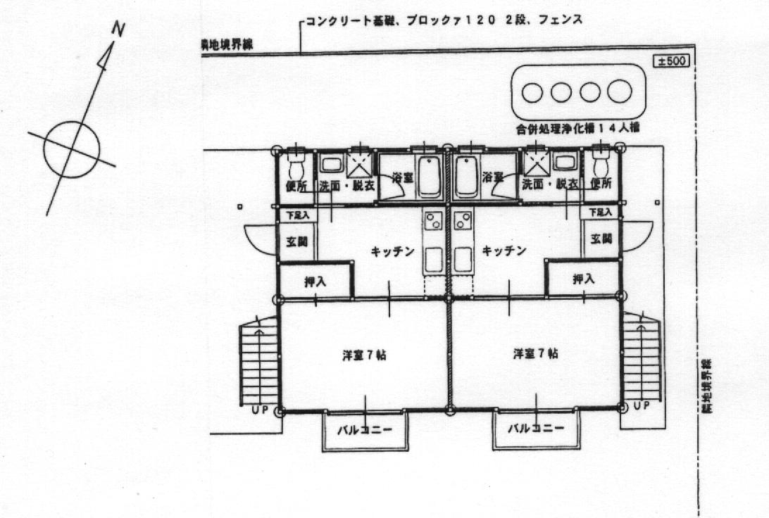SYSハイツ 202号室の間取り図