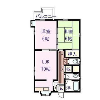 ニューセフィラ乙吉  301号室の間取り図
