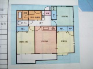 ファイン乙吉 203号室の間取り図
