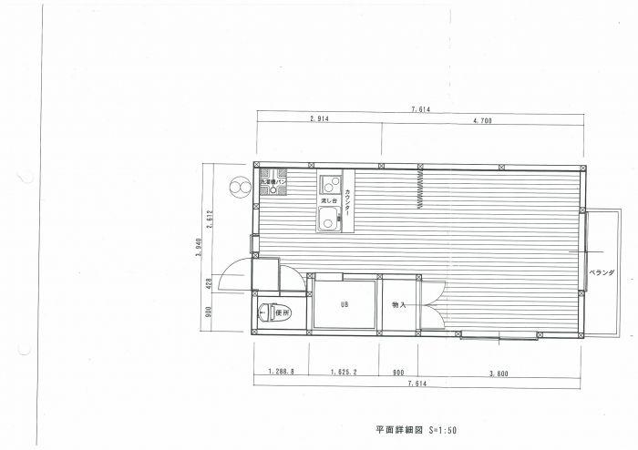 リアルエステート 105号室の間取り図