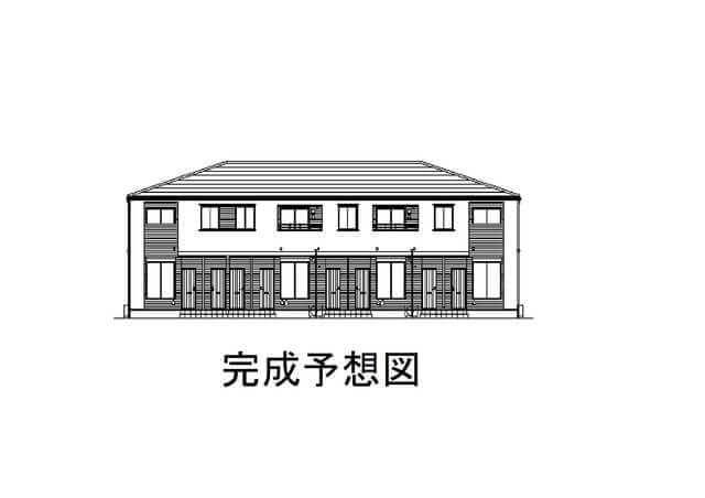 かもしま北町アパート(仮) 202号室の外観写真