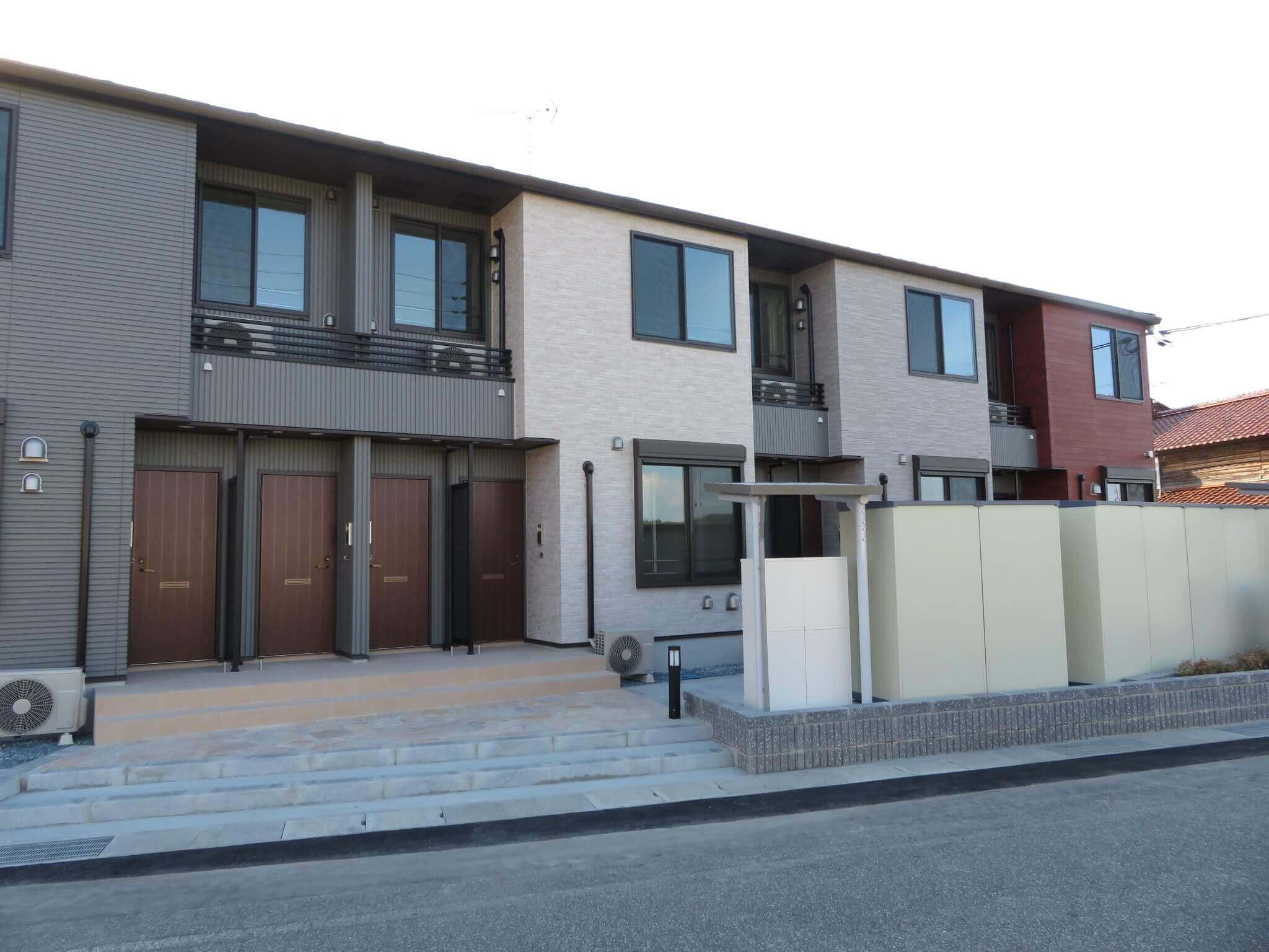 COMODO HOUSE H 104号室の外観写真