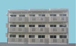 ブルーシンフォニー 103号室の外観写真