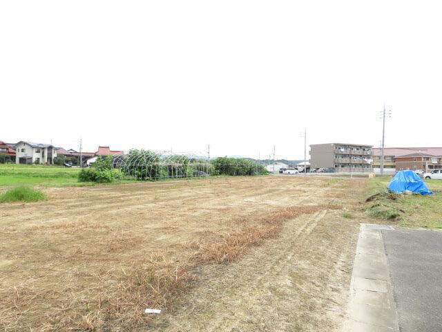 益田市中島町イ818-1の分筆案 ①の土地の写真2
