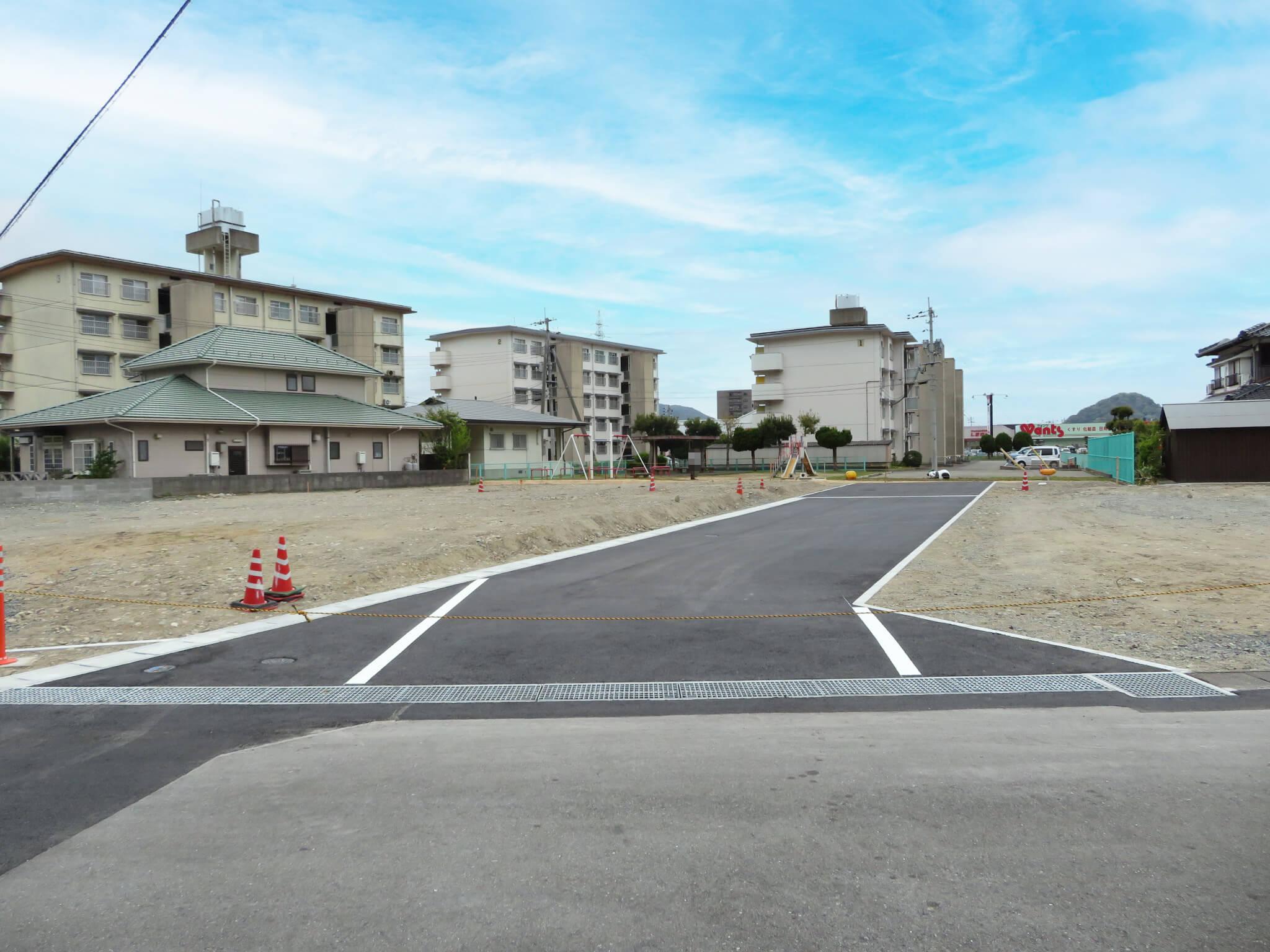 萩市椿東無田ヶ原の新規分譲地 区画1