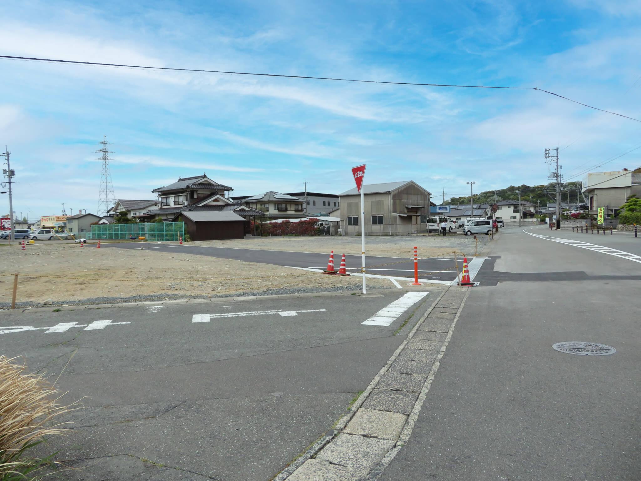 萩市椿東無田ヶ原の新規分譲地 区画1の写真2