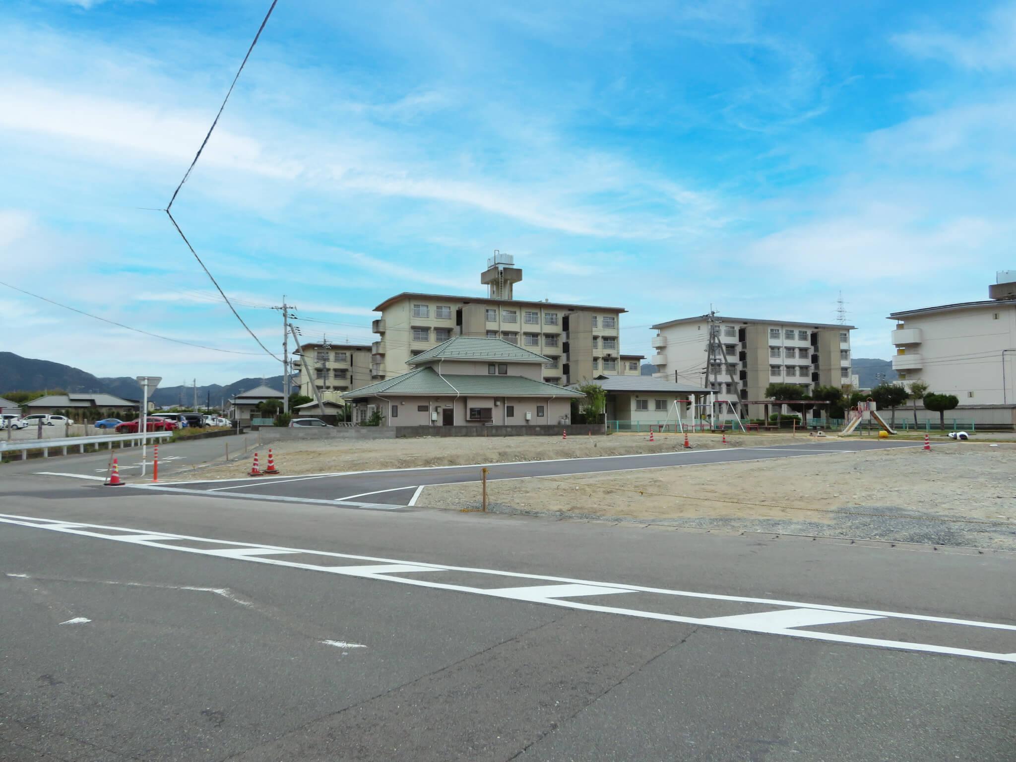 萩市椿東無田ヶ原の新規分譲地 区画1の写真3